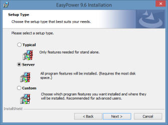 Performing a Server Installation